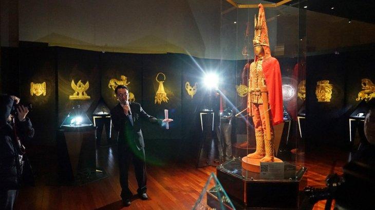 «Алтын адам» Кореяның Ұлттық музейіне қойылды