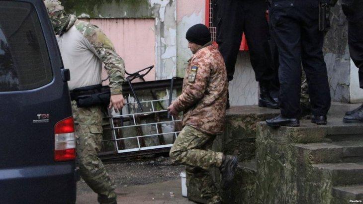 Ресей аннексиялап алған Қырым соты Украинаның үш теңізшісін екі айға қамады