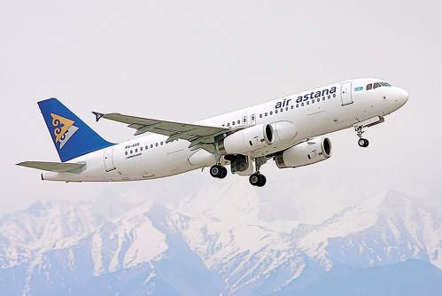 Ауа-райының қолайсыздығынан Омбыға ұшқан Air Astana ұшағы Астанаға қайта қонды