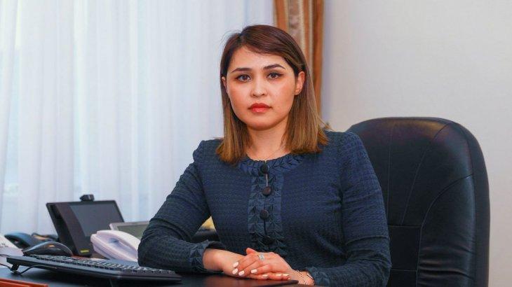 Вице-министр Мәдина Жүнісбекова «Болашақ» бағдарламасының грантына ие болды