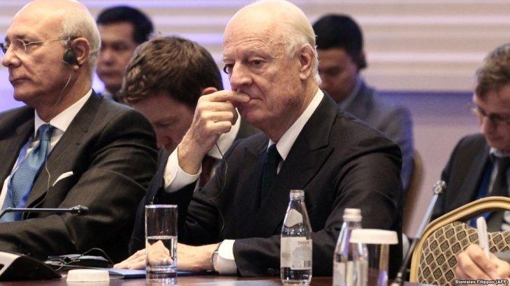 БҰҰ: «Астанадағы Сирия келіссөзінен нәтиже шықпады»