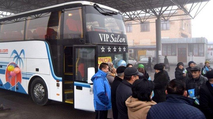 «Түркістан-Ташкент» бағытында халықаралық автобус қатынай бастады
