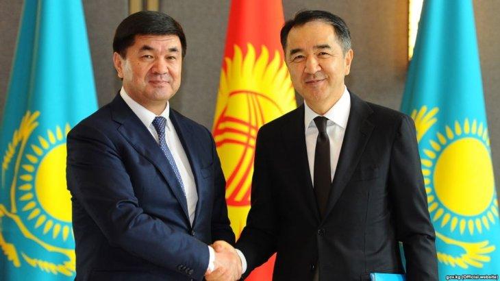Қазақстан мен Қырғызстан премьер-министрлері телефонмен сөйлесті