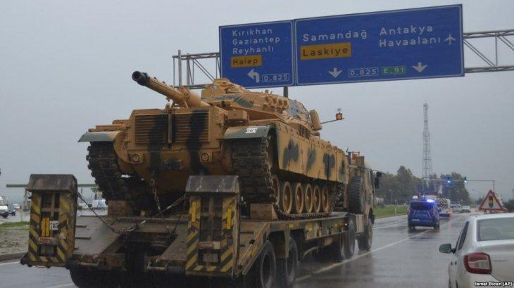 Түркия Сириямен шекарадағы әскери әлеуетін күшейте бастады