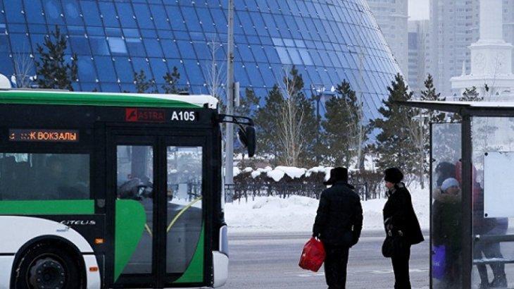 Астана аялдамаларында жылы автобустар кезекшілік етеді