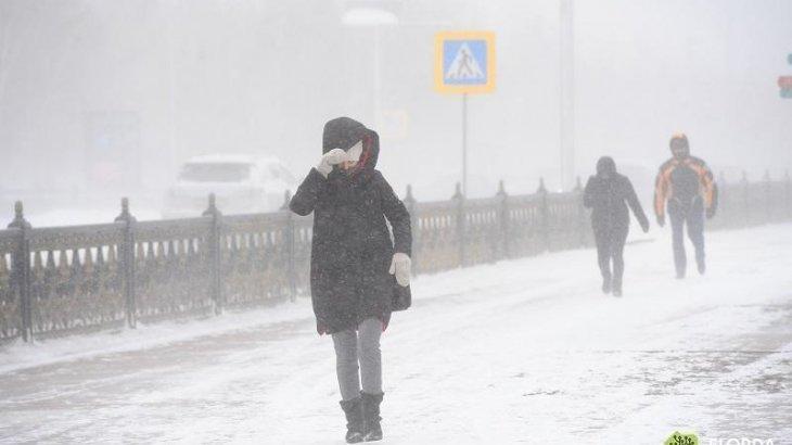 Астана қаласы ТЖД аязға байланысты жұмыс уақытын қысқартуды ұсынды
