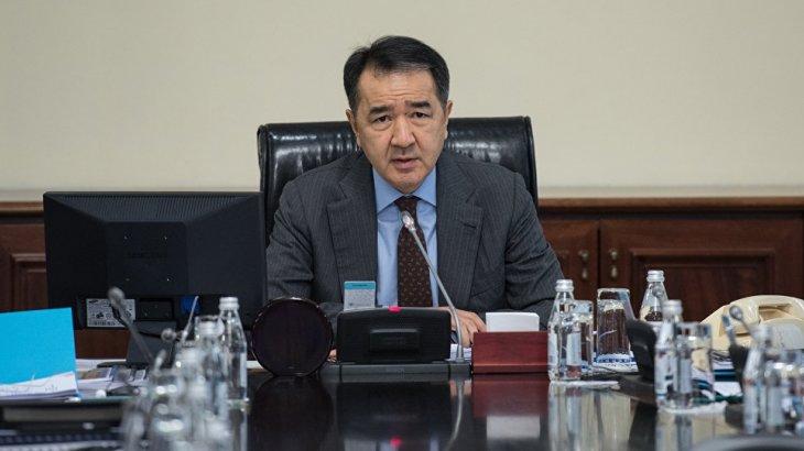 Сағынтаев Назарбаевтың тапсырмасын орындамай отырған әкімдерге шүйлікті