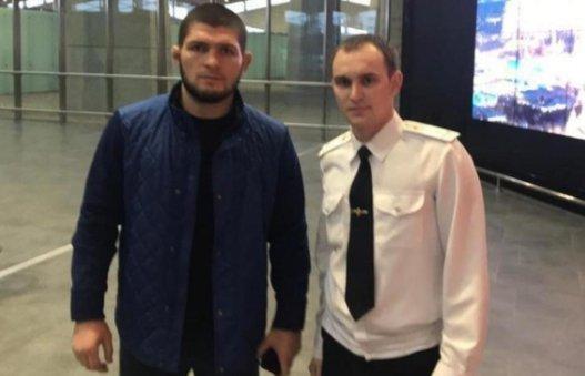 UFC жұлдызы Хабиб Нурмагомедов Ресей шекарашыларын балағаттап кетті