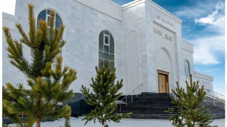 Астанада ұлттық нақышта безендірілген мешіт ашылды