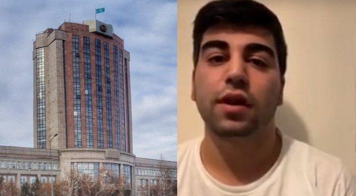 Қарағандыдағы төбелес: ІІМ қашып жүрген күдіктінің видеоүндеуіне түсініктеме берді