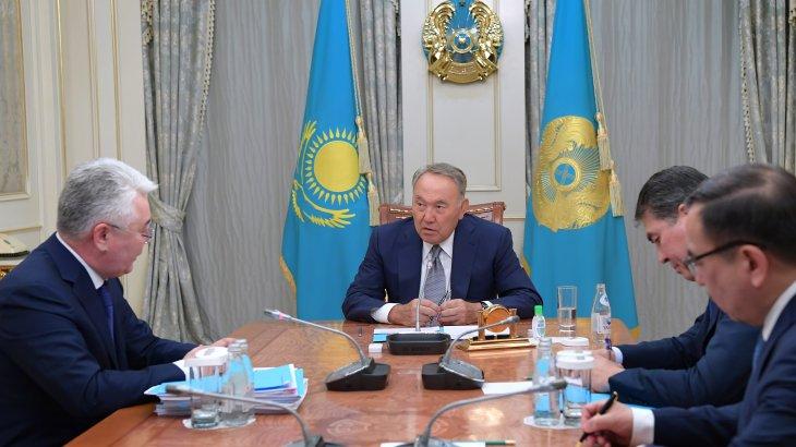 Назарбаев: «Бастаған ісіміздің бәрін одан әрі жалғастыру қажет»