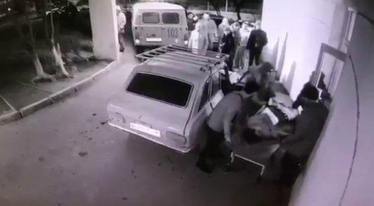 Маңғыстауда 2 ер адамды атып кетті (ВИДЕО)