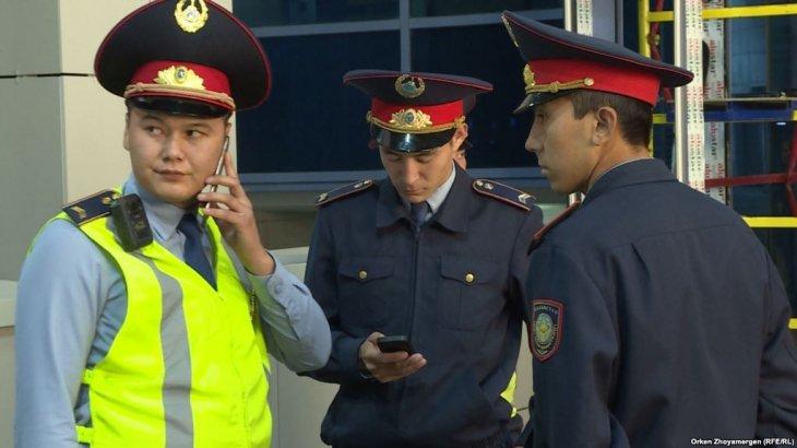 Ішкі істер министрлігі интернетте полиция формасын сатқандарды іздеп жатыр