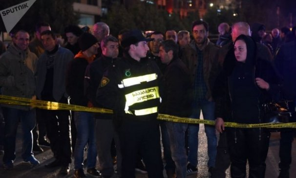 Грузия астанасында болған жарылыстан төрт адам қаза тапты