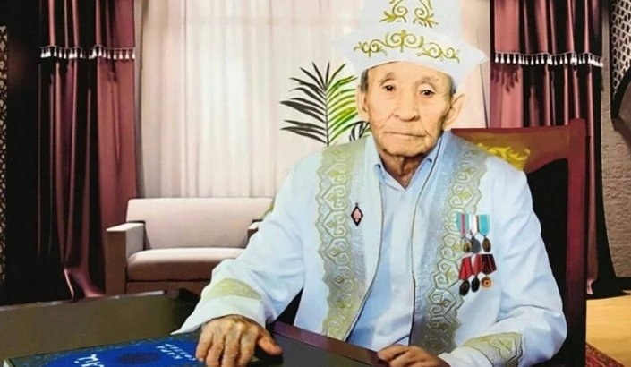Ақтөбелік 90 жастағы қария қатерлі ісікті жеңіп, 11 баласын жалғыз өсіргенін айтты