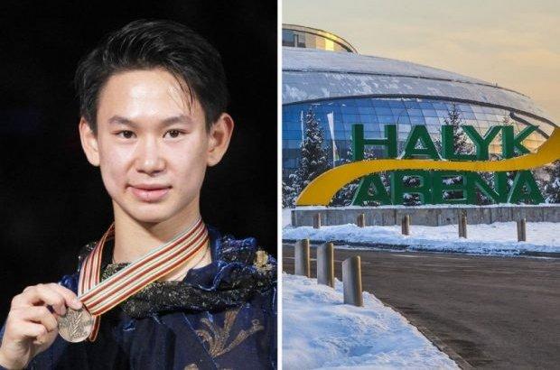 Қазақстандықтар Алматыдағы мұз аренасына Денис Теннің есімі берілуін сұрап, петиция жариялады