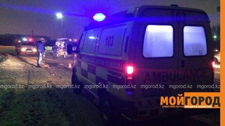 Атырауда көпірде болған жол апатынан үш адам мерт болды