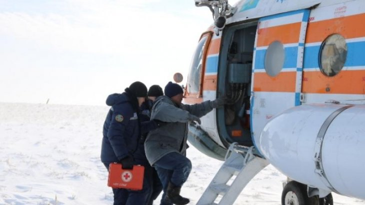 Атырау облысының тұрғыны далада екі күн бойы адасып жүрген