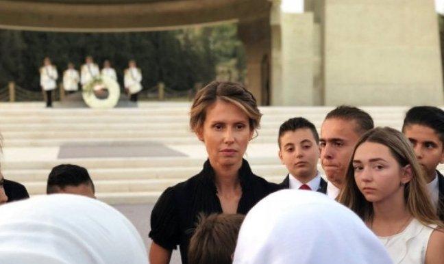 Қатерлі ісікке шалдыққан Сирия президентінің әйеліне ота жасалды