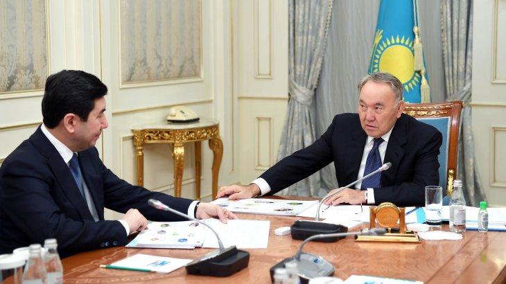 Президент Қарағанды облысы әкімін қабылдап, халықтың жалақысын өсіру жайын талқылады