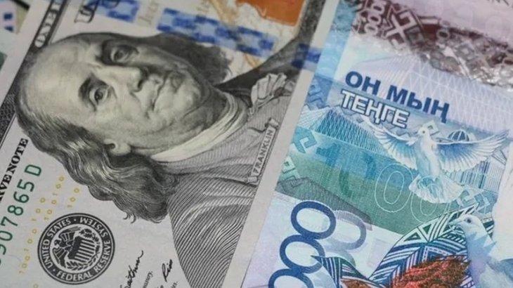 Доллар бағамы бір теңгеге төмендеді