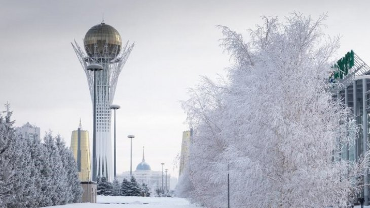 Астанада дауылды ескерту жарияланды