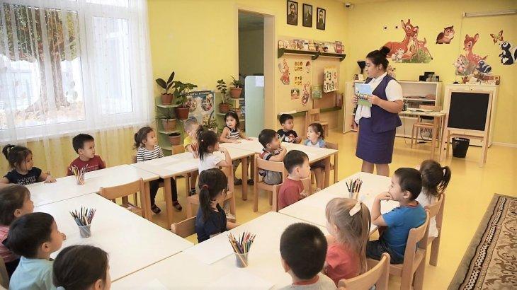 Астанада 3 жастан асқан бүлдіршіндердің 90 пайызы балабақшаға барып жүр