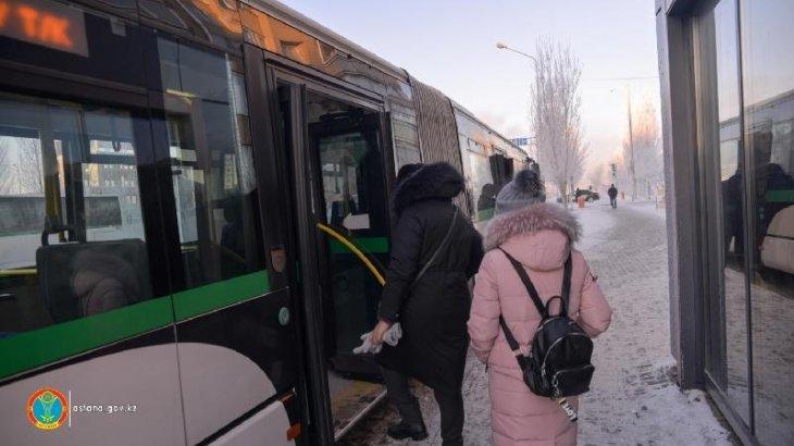 Аязға байланысты Астана маңындағы ауылдарға қатынайтын автобус тоқтатылды