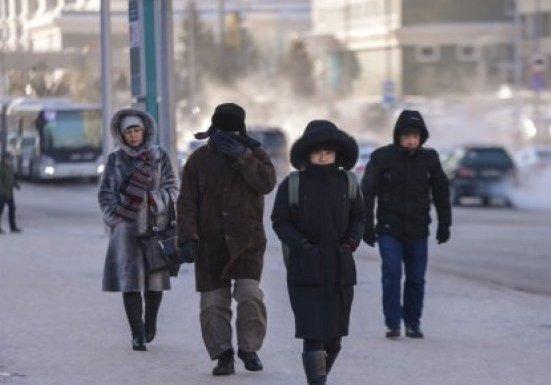 Сегодня ночью Астана и Караганда были одними из самых холодных мест в мире