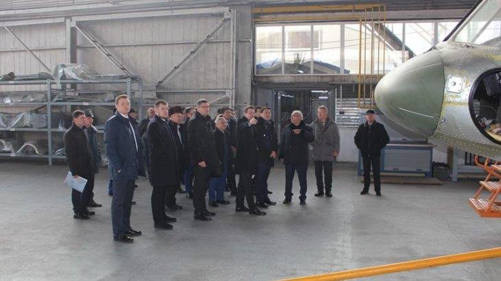 Вице-премьер посетил предприятия оборонно-промышленного комплекса Астаны и Алматы
