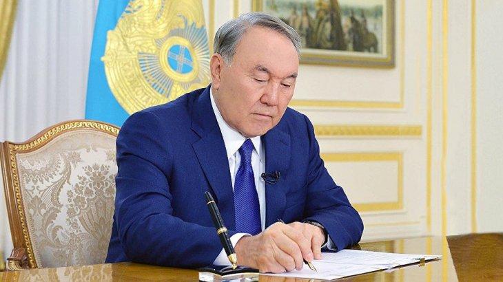 Назарбаев 3 бірдей заңға қол қойды