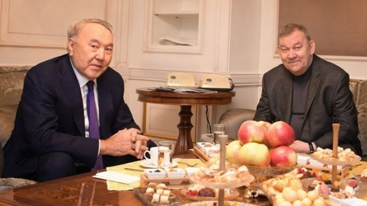 Назарбаев на премьере в «Астана Опера» встретился с гендиректором Большого театра России