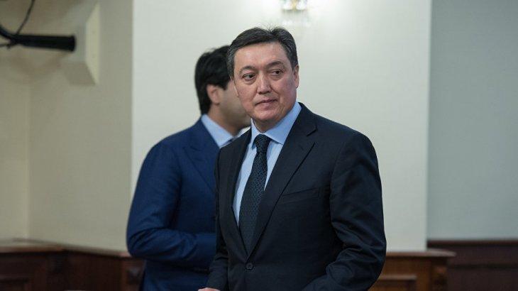 Асқар Мамин премьер-министр боп тағайындалды