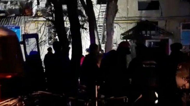 Взрыв газа в многоквартирном доме в Таразе