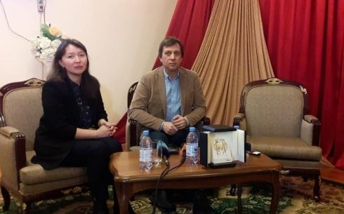 Режиссер и актриса фильма «Айка» встретились с карагандинскими зрителями