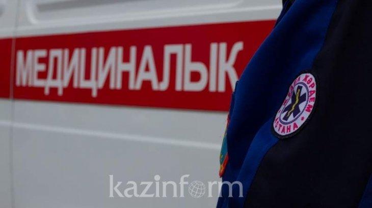Астанада тұрғын үй кешенінде өрт болып 5 адам ауруханаға жатқызылды