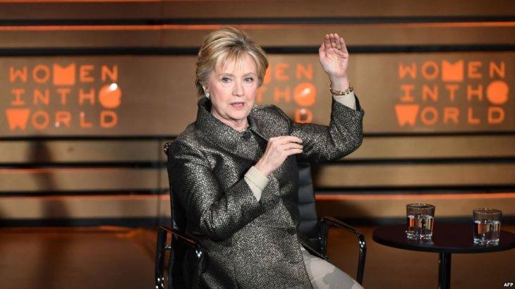 Хиллари Клинтон президент сайлауына қатыспайтынына қынжылатынын айтты