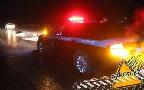 Мужчину сбили насмерть на трассе Алматы-Астана