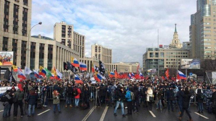 В Москве прошел митинг против «суверенного интернета»