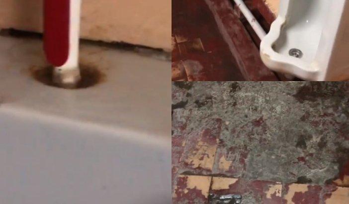 «Су ағып жатыр»: Оралдағы Халықаралық әуежайындағы дәретхананың сыйқы жұрттың жағасын ұстатты (ВИДЕО)