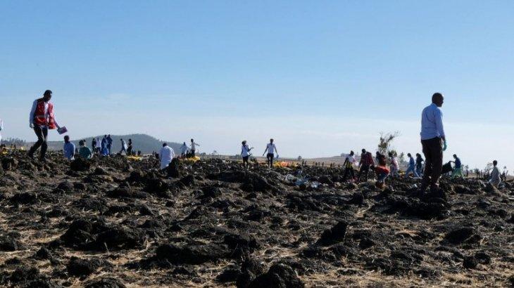 Эфиопияда апатқа ұшыраған ұшақтың қара жәшігі табылды