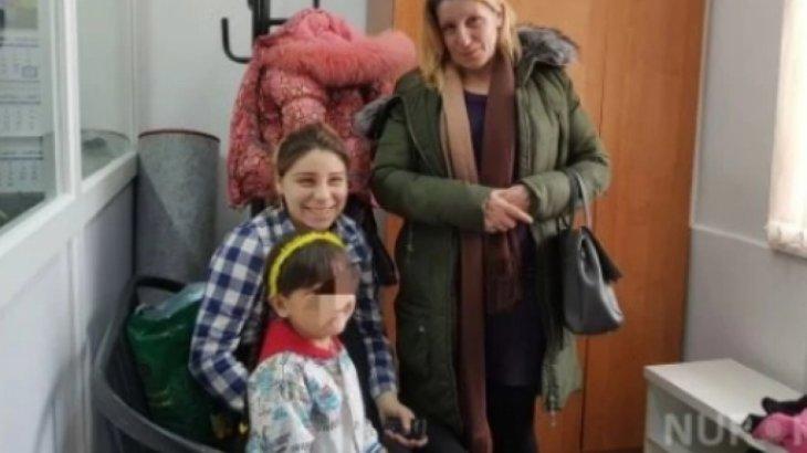 Оставила 4 года назад в немецкой семье: Биологическая мать приехала к 5-летней Асемгуль в Актобе