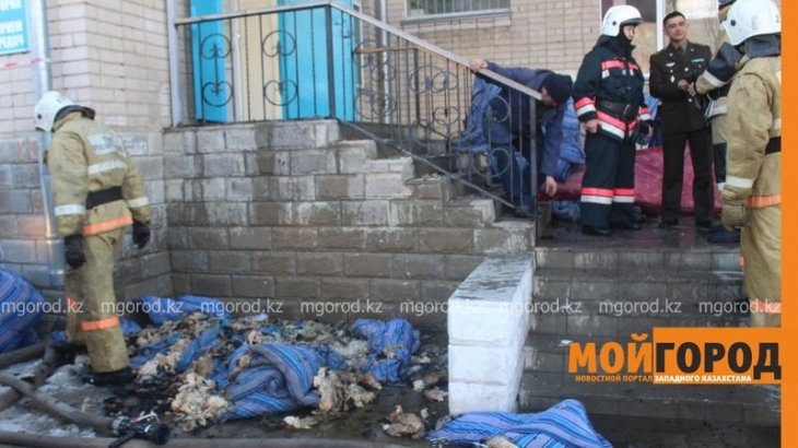97 рожениц эвакуировали из роддома в Актобе из-за пожара