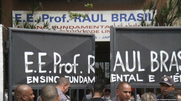 Бразилиядағы мектептердің біріне шабуыл жасалып, бірнеше адам қаза тапты