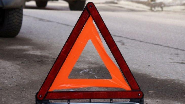 БҚО-да ірі жол апатынан 2 адам мерт болды