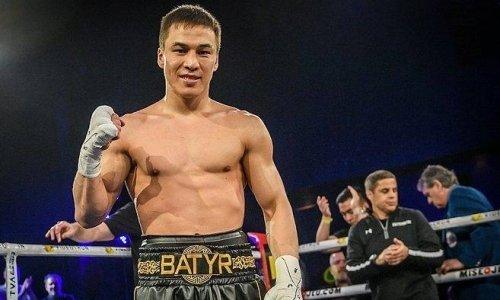 Батыр Жүкембаев кәсіпқой бокстағы 15-жеңісіне қол жеткізді