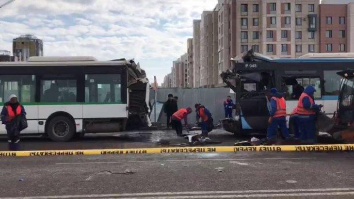 Нұр-Сұлтанда автобус апатында зардап шеккендердің бірі мүгедек боп қалды