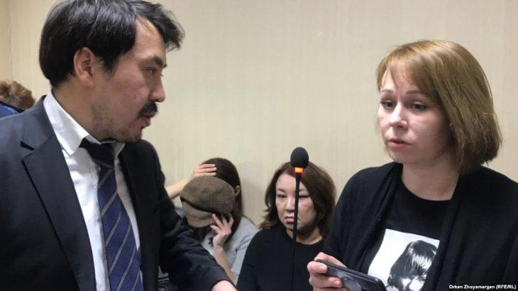 Журналист Глушкованың сотына келген БАҚ өкілдерін судья шығарып жіберді