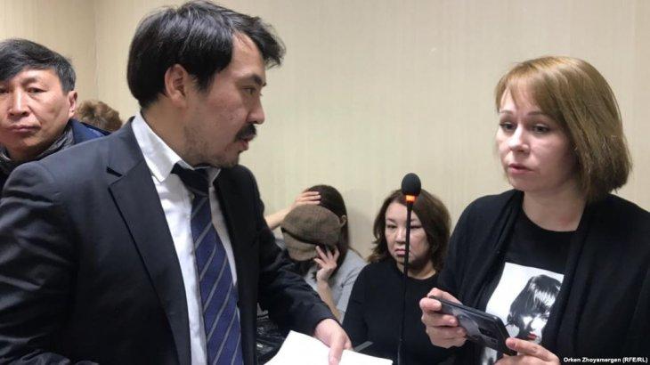 Журналист Глушковаға сот айыппұл салды