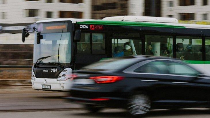 Нұр-Сұлтанда бірнеше автобустың бағдары өзгерді